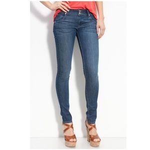 HUDSON JEANS 'Collin' Flap Pocket Skinny Jeans 25